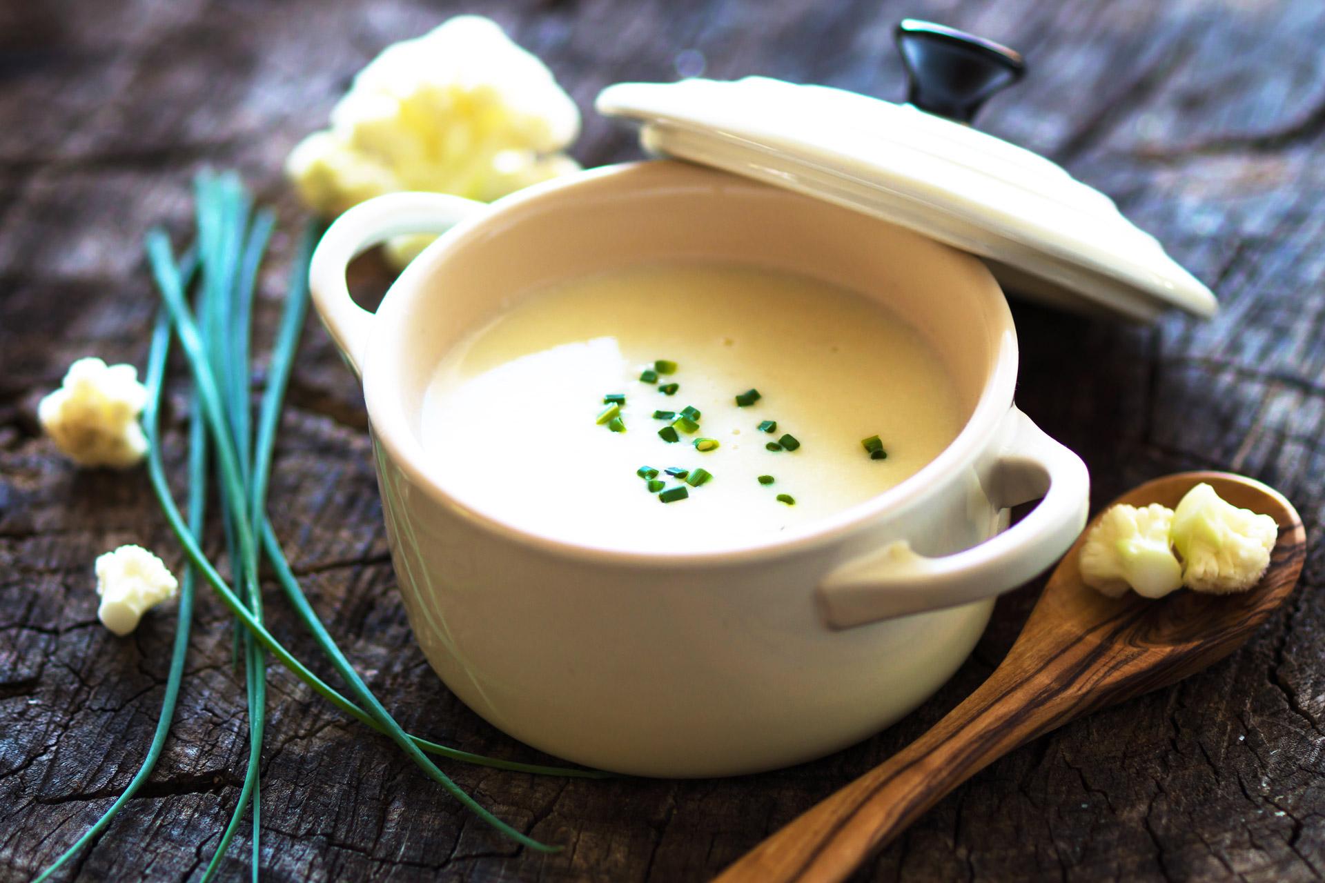 Silky Cauliflower Soup | Cancer Below The Belt